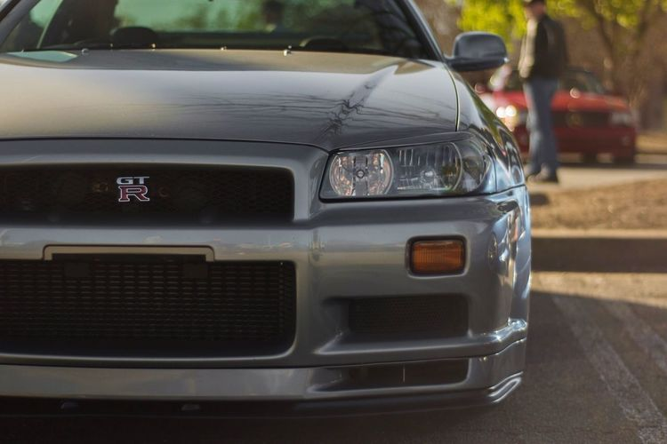 A rare site in the US R34 GTR Rare Car Supercar Jdm Japanese  Perfection Land Vehicle Transportation Mode Of Transport Day No People Outdoors Close-up