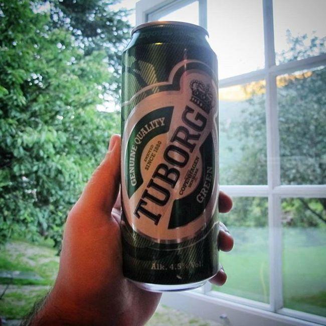 Bier Beer Cerveja Tuborg Norway Flåm