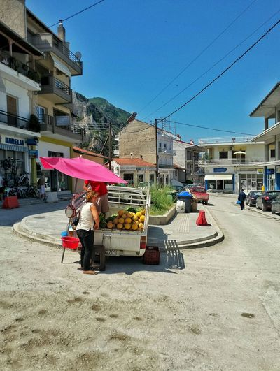 The Simple Life Buying WaterMELONS Typical Streetlife in Ελλάδα Streetstyle Ghost Town on this Time VisitGreece