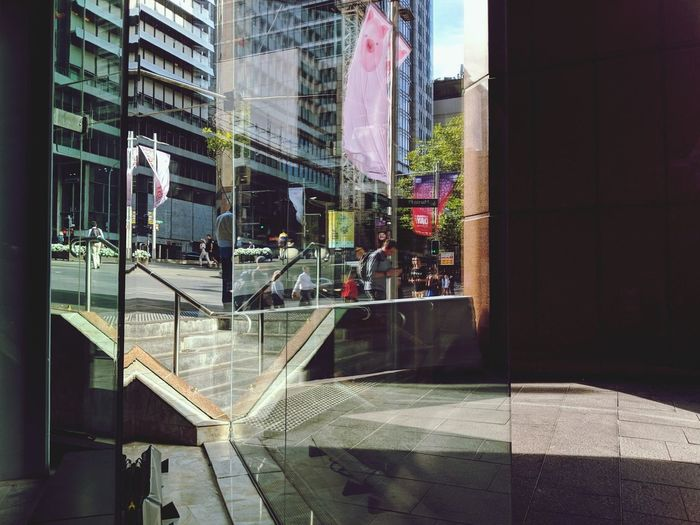 """""""Urban lines"""" From My Point Of View Urban Photography Reflection City Window Architecture Building Exterior Built Structure Office Building Building"""