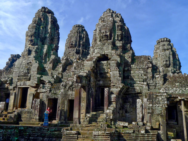 Ancient Ancient Civilization Angkor Thom Archaeology Architecture Built Structure Cultures Day History Old Ruin Outdoors Place Of Worship Religion Siem Reap, Cambodia Sky Spirituality Statue Tourism Tourist Travel Travel Destinations