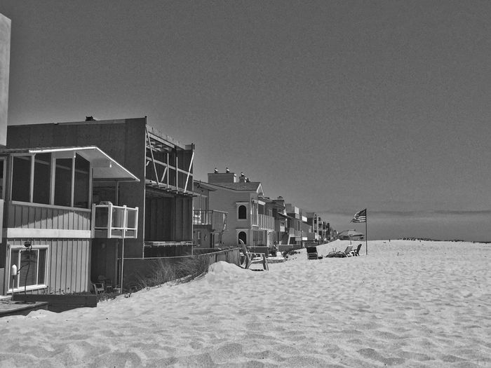 White sand and beach houses - minimalism at its best Architecture Archival Beach Beach Photography Beachphotography Black & White Black And White Blackandwhite EyeEm EyeEm Best Shots EyeEm Gallery EyeEmBestPics Eyeemphotography Minimal Minimalism Minimalist Minimalistic Minimalmood Minimalobsession Minimlism Nature No People Outdoors Sand Sky