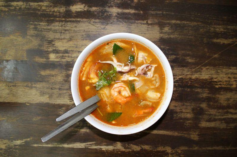 EyeEm Thailand Thai Food Tomyamsoup  Soup Seafood Noodle Cooking