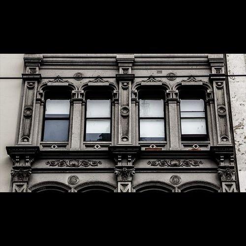Windows above Swanston