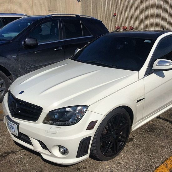My car got an attitude don't pull up next to it ? AMG C63