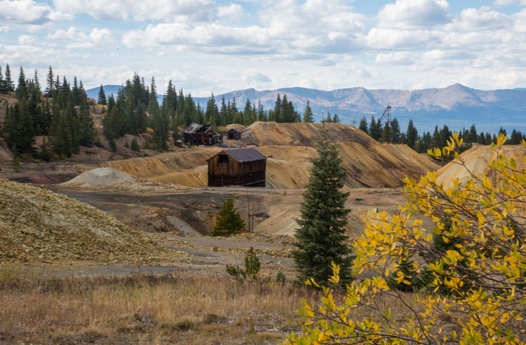 Sep 2018 - Climax Mine 19th Century Buildings Autumn colors Colorado Rocky Mountains Architecture Beauty In Nature Building Exterior Built Structure Cloud - Sky Environment Field Gold Mining Town House Land Landscape Mountain Nature No People Outdoors Plant Scenics - Nature Sky Tranquil Scene Tranquility Tree