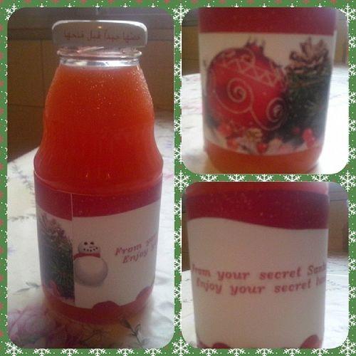 Isn`t HE the best! Secretsanta Secretlunch Label Design christmas sosweet thankyou