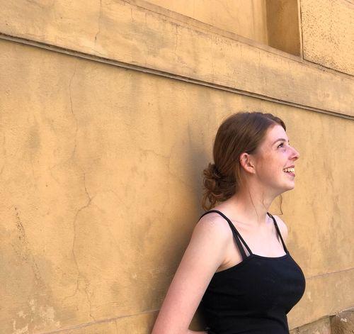 City Young Women Women Portrait Architecture