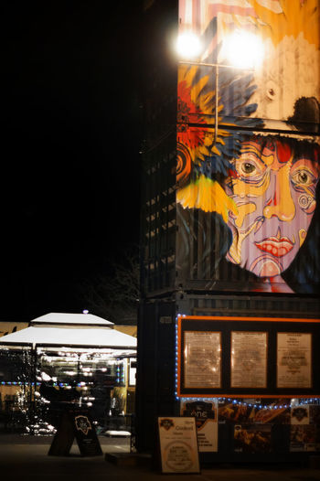 Habibiz collection of container restaurants in Canberra with great graffiti art Architectural Detail Architecture Architecture Art Built Structure Canberra Canberra City Canberraart Canberraatnight Canberralife Container Creativity Design Food Graffiti Graffiti Graffiti Art Hipster Illuminated Multi Colored Night Outdoor Eating Outdoors Restaurant Decor Yellow