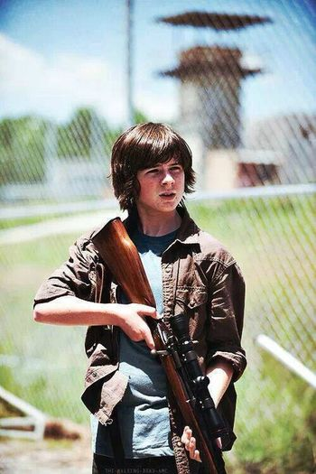 Chandler Riggs Carl Grimes The Walking Dead ♡