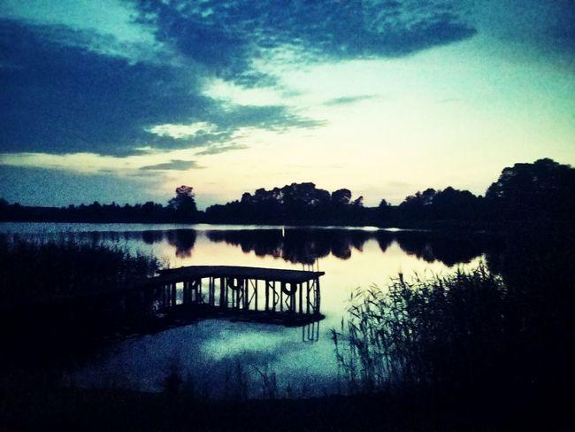 Lake at night...