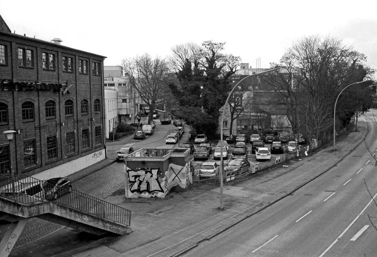Hamburg, Harburg Tree City Outdoors No People Sky Architecture Day Urban Urban Scenery Urban Scenes Hamburg Cityscape Analogue Photograhy Taking Photos Taking Pictures Timepaint72 Analogphoto Analog Film Filmsnotdead Blackandwhitephotography Black & White Photography
