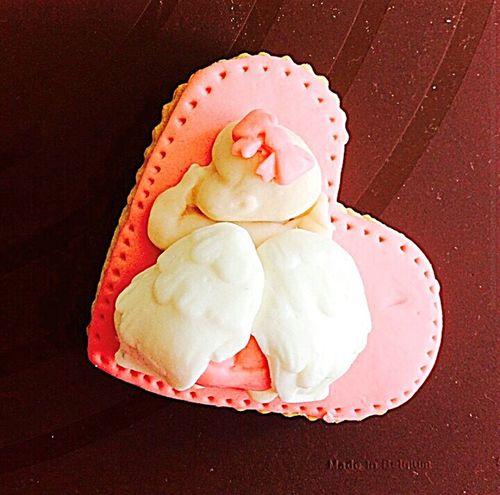 Babygirl Baby Cookies Homemade Handmade Sugarart Fondant  Boutique Gift Newborn