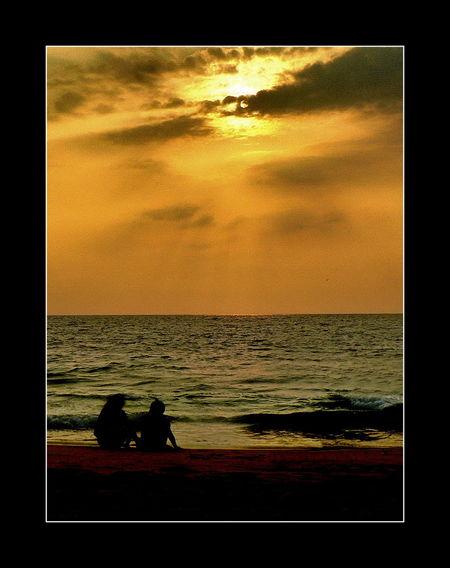 Beach Photography Beaches Of India GodsOwnCountry Idyllic Idyllic Scenery Kerala Kovalam Kovalam Beach Pictorial Pictorials Scenery Scenery Shots Sun And Sand Sunset Silhouettes