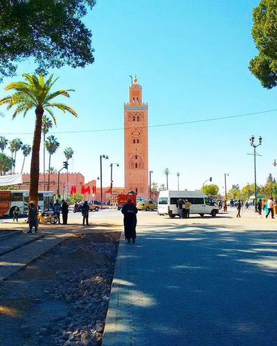 Mosque al koutoubia Marrakech Morocco Moroccotravels Moroccotraveltips
