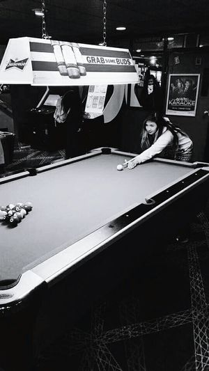 Billiards gaming 👏 Mylove Maybel❤ Black&white Photography