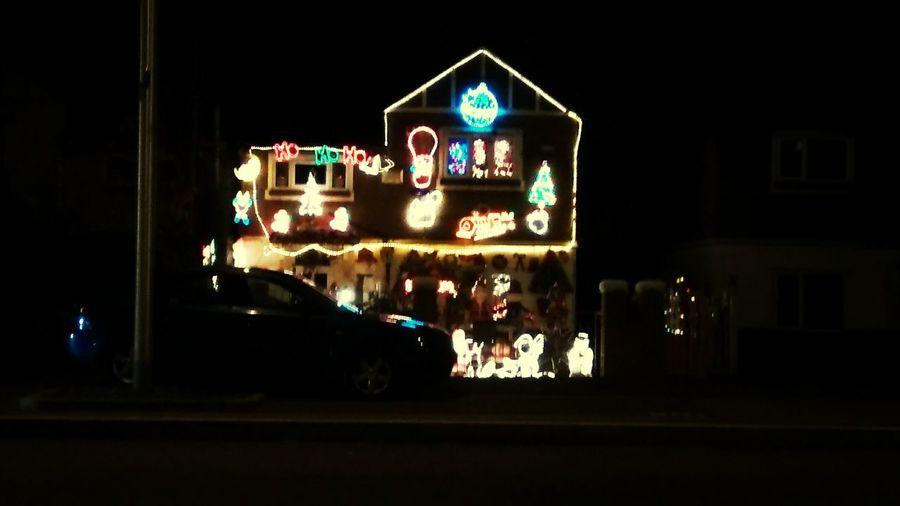 The Christmas house Christmas Christmas Lights House Light