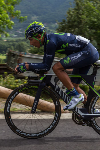 4 Februari 1990 Athlete Bicycle Bike Bike Race Colombia Cycling Megeve Movistar Movistar Team Nairo Quintana Racing Bicycle Sallanches Sport Sports Race Time Trials Tour De France