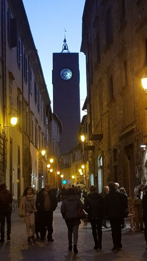 beautiful italy Clock City Clock Face Illuminated Astronomical Clock Old Town Architecture Building Exterior Built Structure Sky
