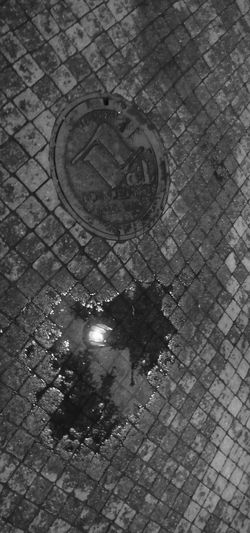 Architecture Close-up Day High Angle View No People Outdoors Pattern Puddle Sewage Street The Street Photographer - 2017 EyeEm Awards Vail Colorado Vail,co