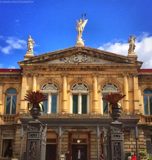 Teatro nacional Costa Rica IPhoneography