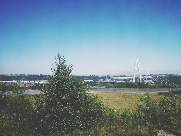 View of bridge Bridge Sunderland Urbanphotography Skyline Uk Huawei P20 Pro Huawei P20 Pro Photography Water City Tree Clear Sky Field Sky Calm