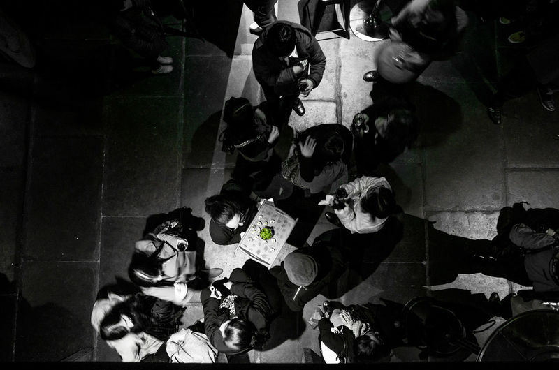 Black Event Indoors  Shadow