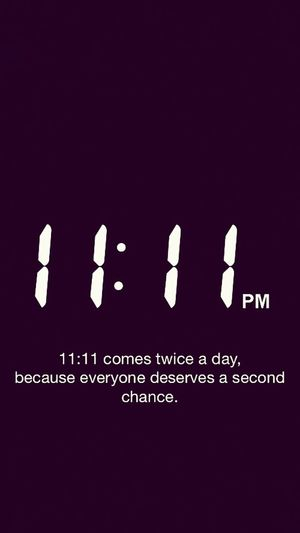Blackandwhite 11:11 Make A Wish