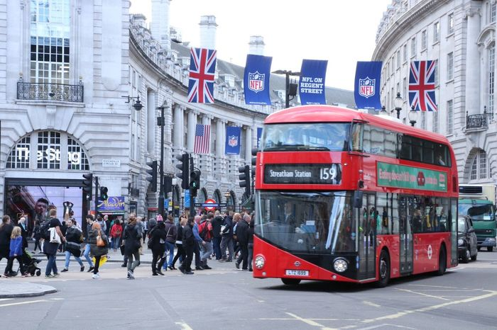 More from my last business trip to London is on my blog Brunette from Wall Street London Lifestyle City City Street Travel Destinations Land Vehicle Street Cultures Public Transportation Outdoors Road Large Group Of People Double Decker Bus Red Bus