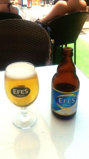 Efes EfesPilsen Efes Pilsen🍺 Efes Pilsen Side, Turkey Holiday