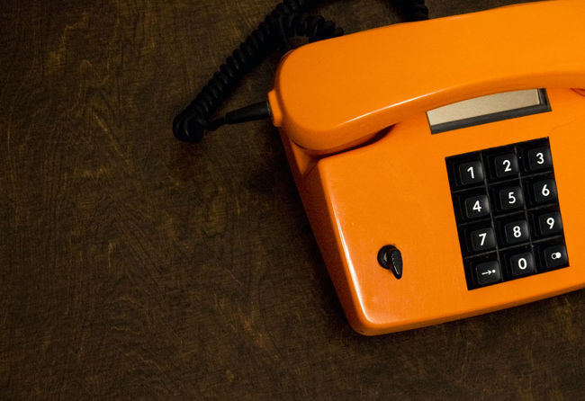 Connection Connection And Communication Contact Dialing Hotline Key Key Phone Old Old Fashioned Old Phone Oldschool Orange Phone Phone PhonePhotography Receiver Capsule Retro Tastentelefon Telecommunication Telecommunications Telecommunications Equipment Telephone Wired Wired Telephone