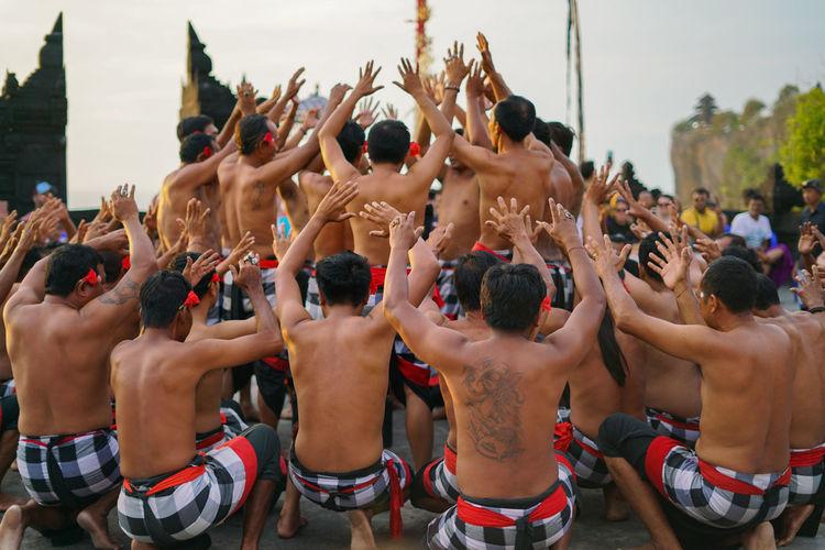 Kecak dance at uluwatu temple