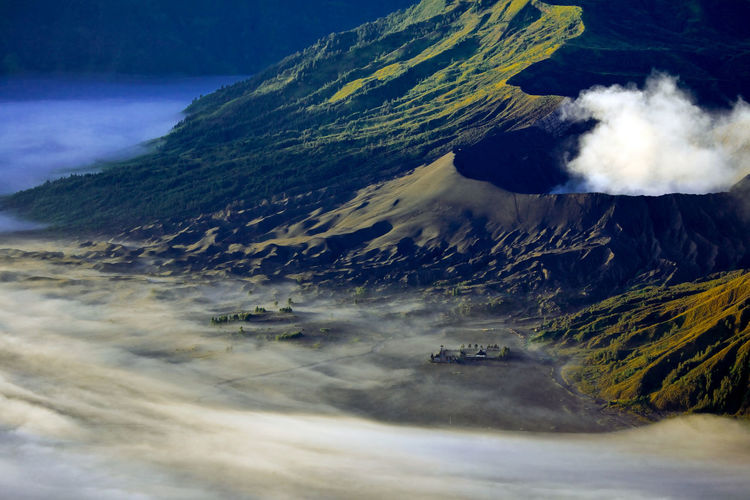 Majestic View Of Mt Bromo