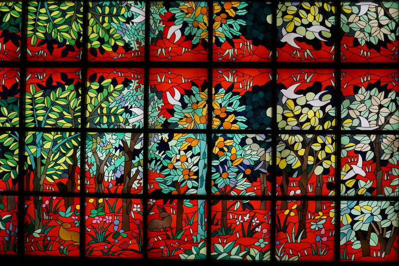 Art Is Everywhere Flowers Colors Full Frame Frame Colourful Backgrounds Multi Colored No People Pattern Close-up Indoors  Day Japanese Art アート 花 花柄 壁 壁画