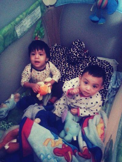My son & my niece (: