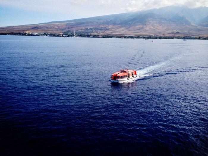 Tender Boat Cruise 2013 Koduckgirl Sea Nautical Vessel Mode Of Transport Water Atol Island