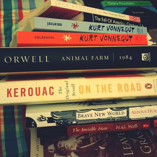 Some summer reading. Some finished, some not. Reading A Book Books Cult Classics Vonnegut
