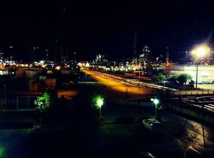 Night Illuminated Outdoors City No People City Life Citylights Light Trail City View  Lights In The Dark Lights Cityissleeping Work