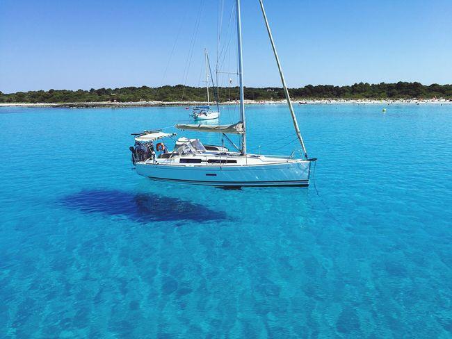 Honeymoon days My Best Travel Photo Water Nautical Vessel Yacht Sea Blue Sailing Clear Sky Sailboat Rippled Sky Boat Yachting Sailing Boat Cruise Sailing Ship