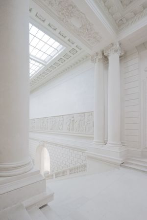 Empty Museum Museum Architecture Indoors  Architectural Column No People Built Structure Dome Day