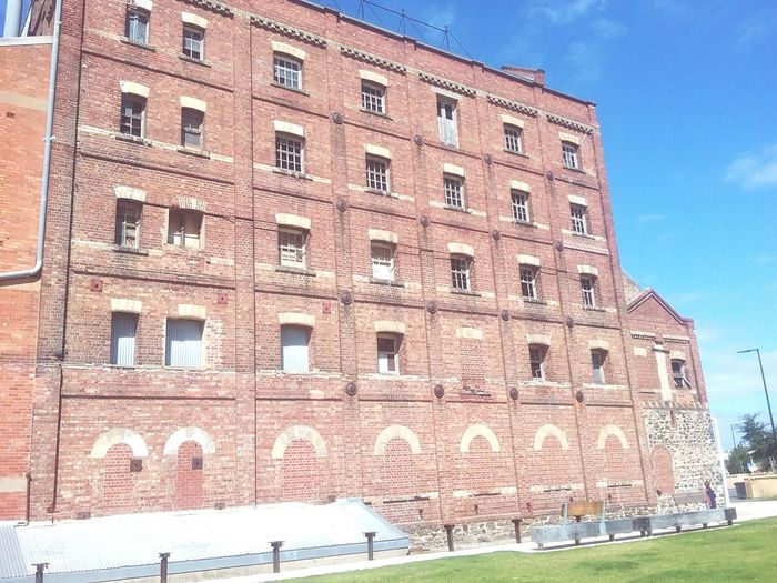 History Historical Historical Building Old Mill Site Old Building  Architecture Built Structure Day Not In Use Anymore Blue Sky Architecture