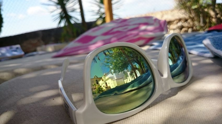 #lazy Finca #mallorca #mirror Focus On Foreground Outdoors Palm Tree Sunglasses Sunlight Break The Mold Live For The Story Sommergefühle