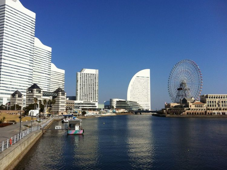 Last Winter in Yokohama Beautiful Memories Memories