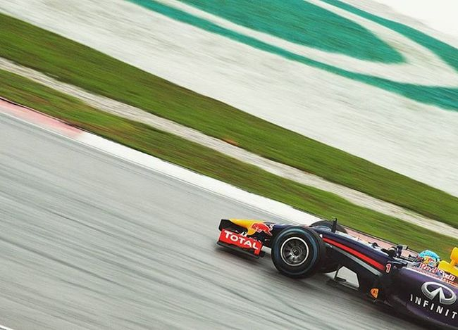 Vettel at Sepang with the RB10    2014 Back to back races again this week at the Mexican GP. Seems to be an unpredictable race on Sunday due to the new tarmac, higher altitude and changing weather conditions during qualifying later today. Malaysia Sepang MalaysianGP Motorsport Motorsportphotography RedBullRacing RedBull Vettel