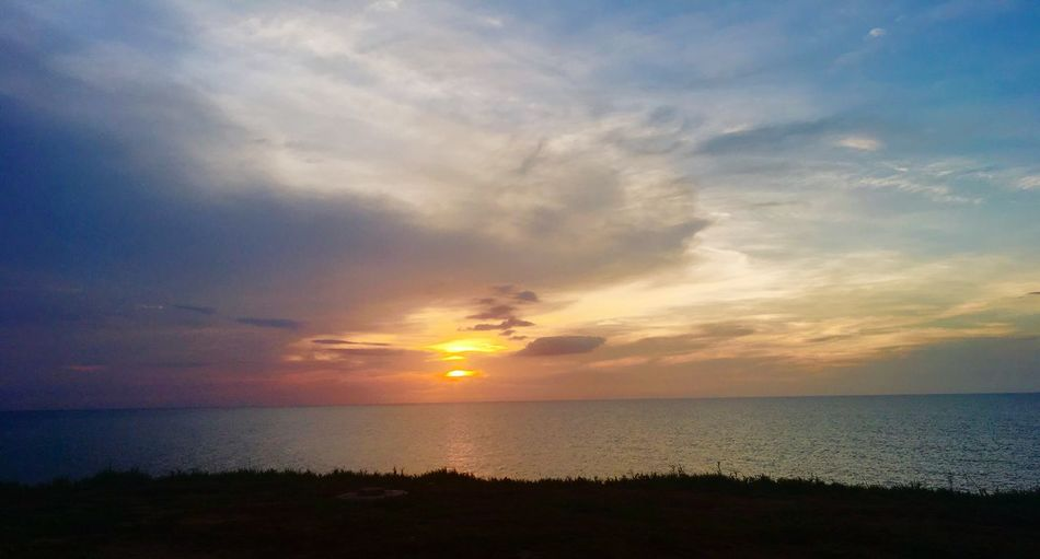 Peaceful Lake Water Sky Sea Sunset Beauty In Nature Scenics - Nature Horizon