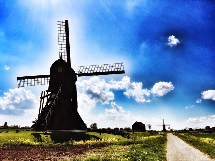 Mill Landscape Holland