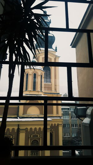 Lines, architecture City No People Architecture Indoors  Clock Day Church Church Tower View From  Inside