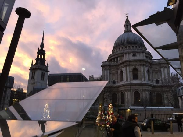 St Paul's Cathedral City Of London Sky And Clouds Streetphotography