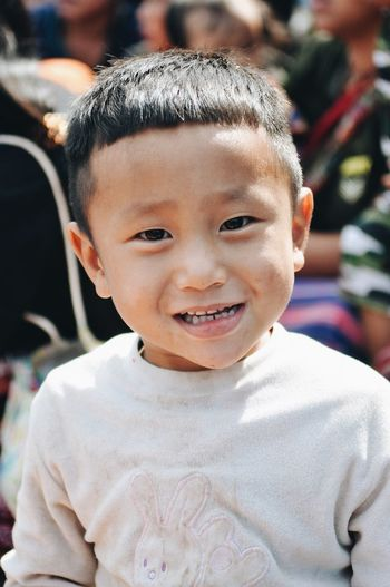 Kids Portrait Childhood Looking At Camera Child One Person Smiling Real People Men Boys Lifestyles Cute