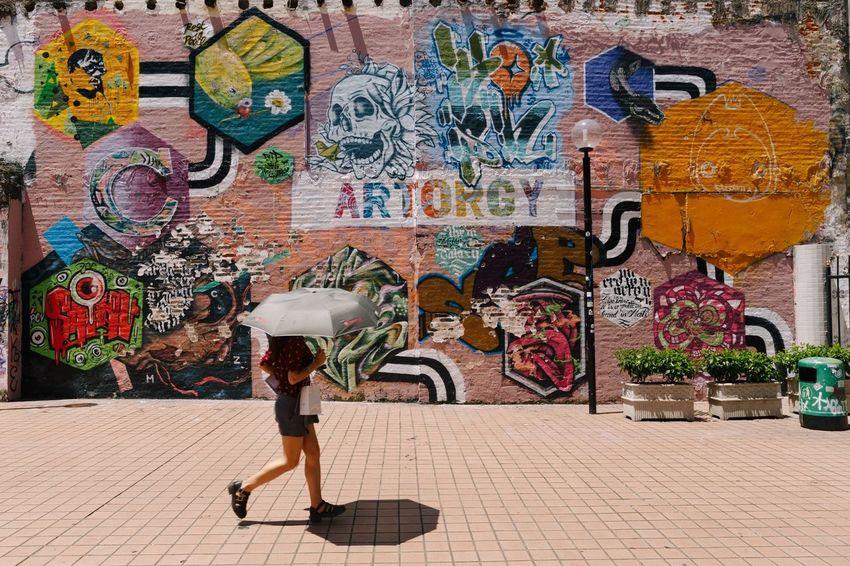 The Street Photographer - 2016 EyeEm Awards Everybodystreet Streetphotography Graffiti Macau